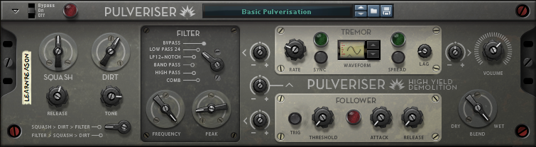 Learn Pulveriser in Reason