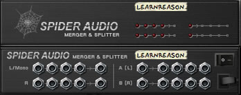 Learn Spider Audio Splitter in Reason