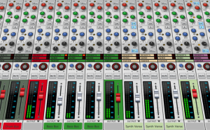 SSL Mixer in Reason