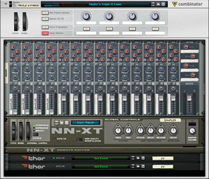 Reason Triple-X Fader Combinator by Shultz